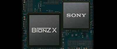 Image showing the BIONZ X image-processing engine