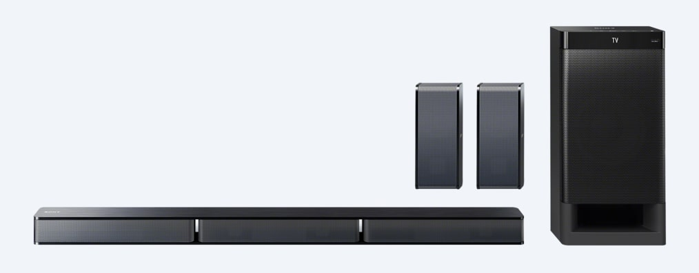 Images of 5.1ch Home Theater System with Bluetooth® technology
