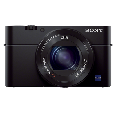 Picture of RX100 III Advanced Camera with 13.2 x 8.8 mm sensor