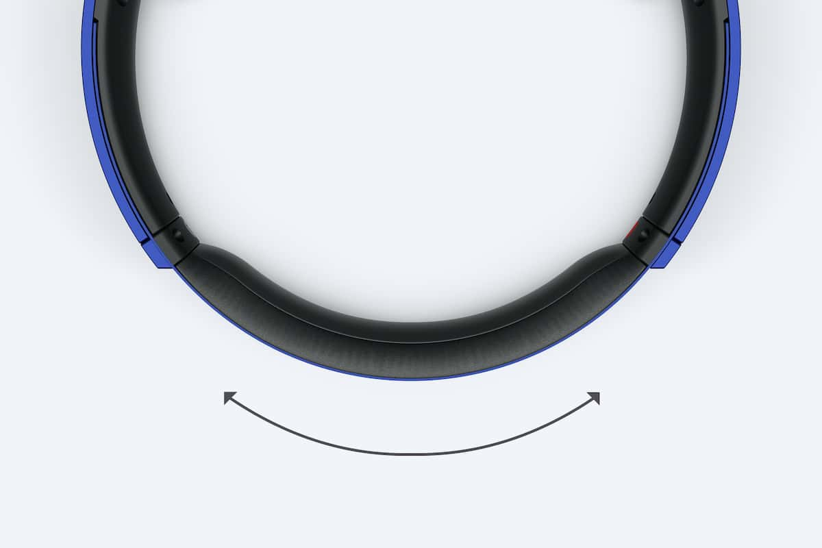 Deep Bass Bluetooth Over Ear Headphones Mdr Xb650bt Sony Ph Xb650btb Black Adjustable Headband