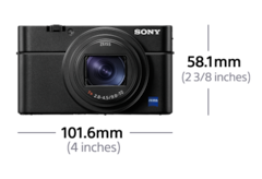 Picture of RX100 VI — broad zoom range and super-fast AF