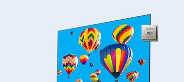 Image of balloons showing 4K picture detail
