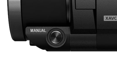 Manual button—easy access