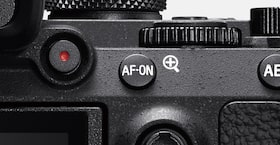 Image showing rear view of camera with AF-ON button
