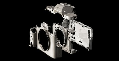 Full magnesium alloy camera body