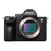 Picture of α7 III with 35 mm full-frame image sensor