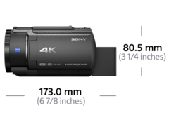 Picture of AX43 4K Handycam® with Exmor R™ CMOS sensor