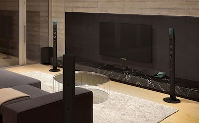 Sony home theater surround sound experience