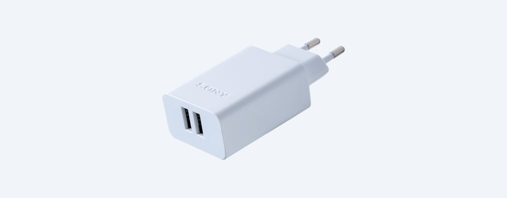 Images of USB AC Adapter with two ports