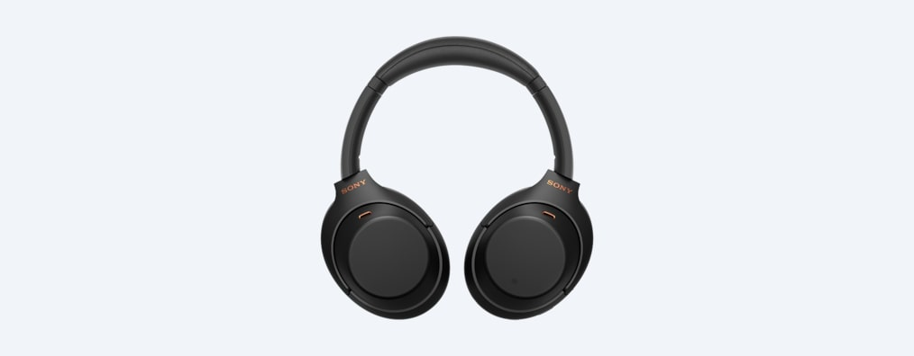 WH-1000XM4 headphones folded