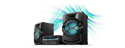 Images of High-power home audio system with DVD