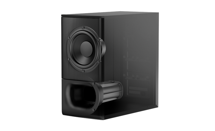 Powerful wireless subwoofer