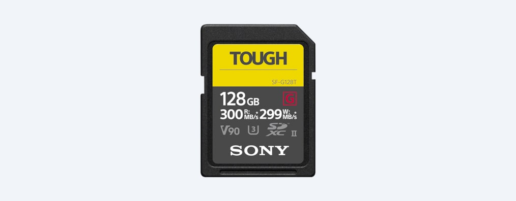 Images of SF-G series TOUGH specification memory card
