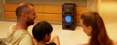 Images of High-Power Home Audio System with BLUETOOTH® technology