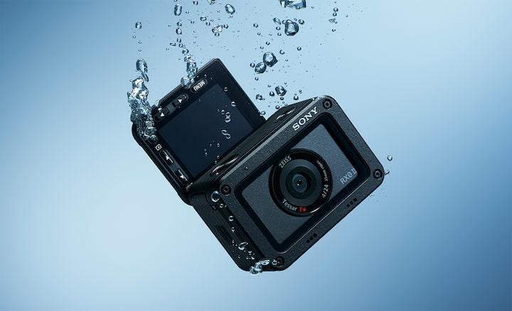 Cámara sumergible: Sony RX0 II
