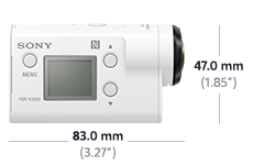 Picture of HDR-AS300 Action Cam with Wi-Fi®