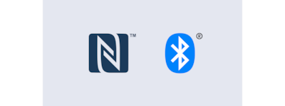NFC and Bluetooth® icons